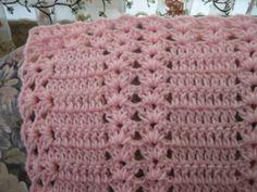 Pink Moscato Double Shell | AllFreeCrochetAfghanPatterns.com