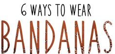 How to wear a bandana. - JAG LEVER