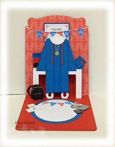 2013 Spring Catalog  Pop 'n Cuts Dress form die - Graduation gown  stampersblog: Dressed Up to Graduate