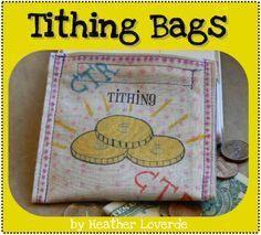 Tithing bag tutorial