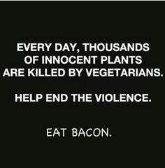 eat bacon, help, laugh, agre, giggl, food, funni, hilari, humor