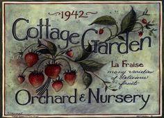 Cottage Garden I by Susan Winget art print