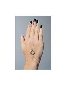 Silver Hand Chain