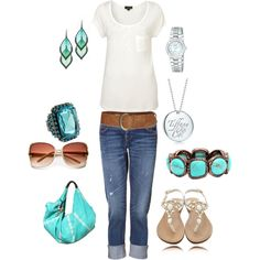 Summery jean, color, fashion styles, dress casual, outfit, teal, closet, dressing up, summer clothes