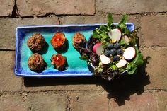 Mostly-free Meatballs, #glutenfree, #dairyfree, #eggfree, #soyfree -- but great for parties and a huge hit with #kids!