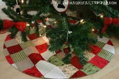 tree skirt-directions and tutorial