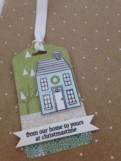 Holiday Home Green Tag