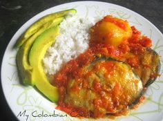 Bagre en Salsa or Catfish in Sauce
