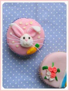 Bunny Cupcake Tutorial By Craft Gossip