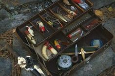 What to put in your first fishing tackle box