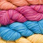 12. These colors would make wonderful dressy shawls!