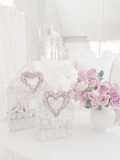 Romantic Shabby chic decorating