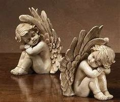 Cherub Figurines Sleeping