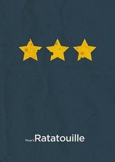Ratatouille Minimal Movie Poster