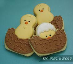 Quick and Easy Birds in Nests cookies