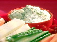 Ranch Dip with Vegetables Recipe : Food Network