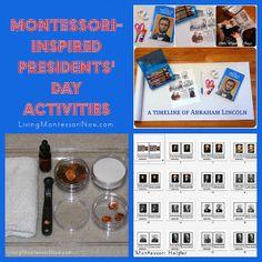 Montessori-Inspired Presidents' Day Activities