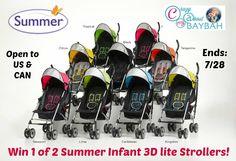 Summer Infant 3D lite Stroller Tour Giveaway #Vegas #3DliteStrollerTour