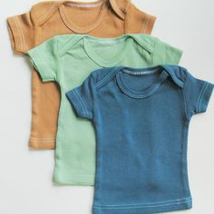Baby clothes Natural cotton hand dyed baby tshirts vintage style baby boy clothes baby girl clothes unisex clothing infant - 24mos.