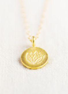 Kawena necklace - gold om necklace