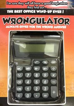Perfect to keep around the office or let that certain annoying classmate borrow it