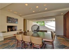 A bold dining room. Rancho Santa Fe, CA Coldwell Banker Residential Brokerage $7,495,000