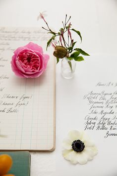 petals and penmanship