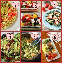 Vegetarian Dinner Salads