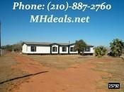 210-887-2760 Texas repos for sale used-double-wide-mobile-homes-2002-Champion-Regal-Used-doublewide-manufactured-home-San-Antonio-TX