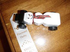 Pinewood derby car 2012
