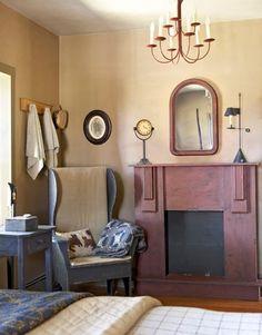 Bedroom Fireplace<3