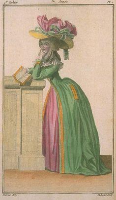 Magasin des Modes, November 1786. Redingote ?