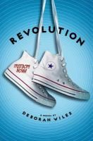 <2014 pin> Revolution by Deborah Wiles. SUMMARY: It's 1964 in Greenwood, Mississippi, and Sunny's town is being invaded by people from up north who are coming to help people register to vote. Her personal life isn't much better, as a new stepmother, brother, and sister are crowding into her life, giving her little room to breathe.--From publisher description.