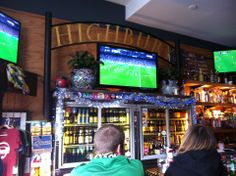 Highbury in Milwaukee, WI: It's a simple pub, with a decent selection of beers and friendly patrons. During the rest of the year they show games from the Spanish and English leagues from @Fernando Escudero. Find more places to watch the World Cup in the USA: http://pin.it/AeGWA1a