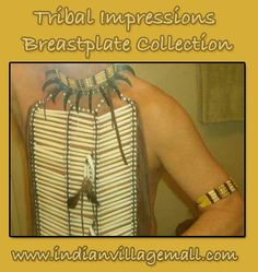Tribal Impressions Breastplate Collection- Review off of: http://indianvillagemall.com/dreamcatchers/breastplates.html