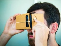 The I Am Cardboard kit is a replica of the Google Cardboard DIY virtual reality headset given out during Google I/O.