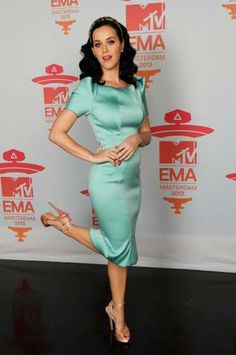 #KatyPerry strikes a pose at the MTV EMAs 2013 at the #ZiggoDome on November 10, 2013 in #Amsterdam