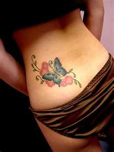 black butterfly tattoos , butterfly foot tattoos , butterfly tattoos ...