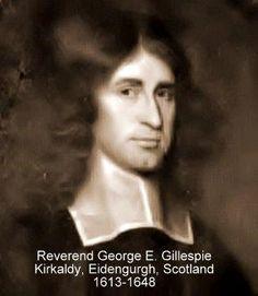 Whitaker - Reverend George Gillespie b. 1613 - Scotland - Ancestry.com