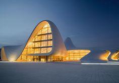 Baku, Azerbaijan museum by Zaha Hadid !