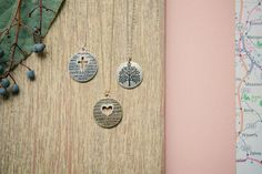 Cross, Heart & Tree of Life Necklaces