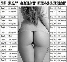 30-day squat challenge!