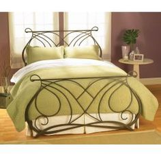 Wrought Iron Bed Frame bed frames, beds, wesley allen, iron bed, dream decor, furniture decor, colorado spring, complet bed, bedroom