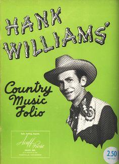 Hank Williams - Country Music Folio