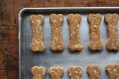 Homemade natural dog treat recipe: fresh apples