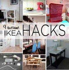9 Awesome Ikea Hacks