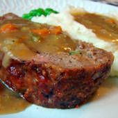 salsa meatloaf, houses, main cours, main dish, beef