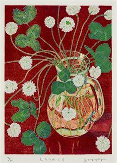 """yasuko enjyoji """"white clover"""""""