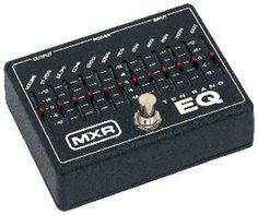 MXR M-108 10 Band Equalizer Effect Pedal