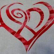 Celtic Knot Heart Applique - via @Craftsy